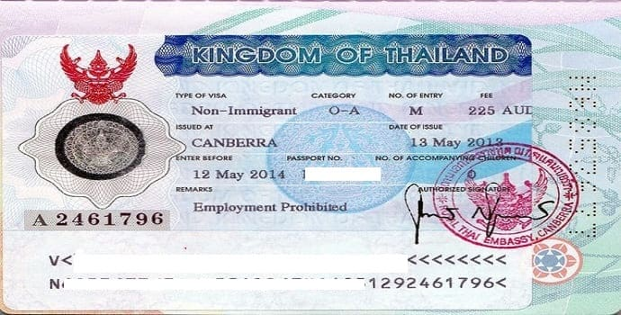 Thai Retirement Visa from oversea