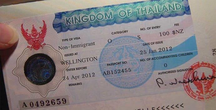 NON O Thailand Visa