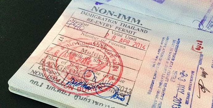 re entry for thailand business visa