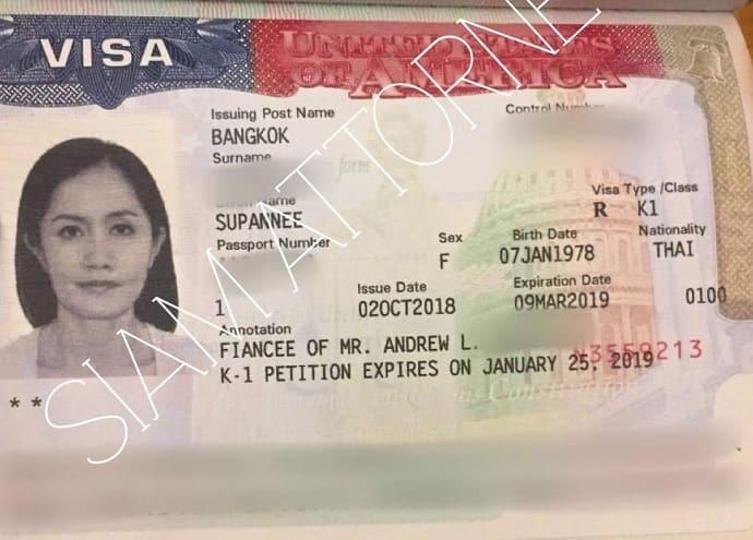us k1 visa thailand meaning