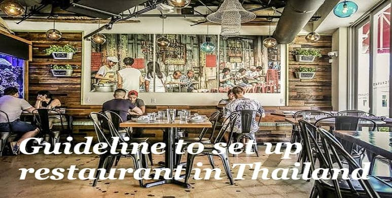 how to set up restaurant business in thailand