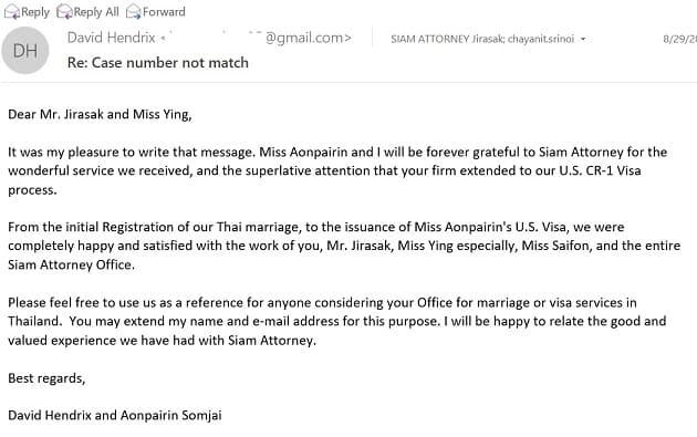 K3 Spouse Visa Thailand