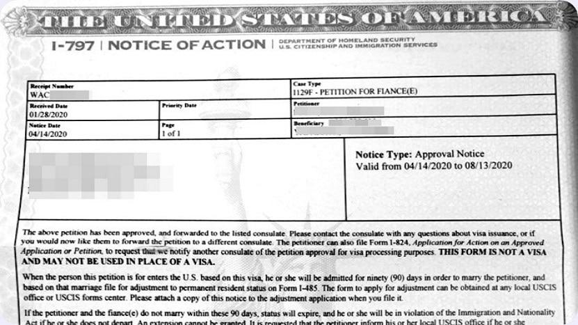 Approval Notice USCIS
