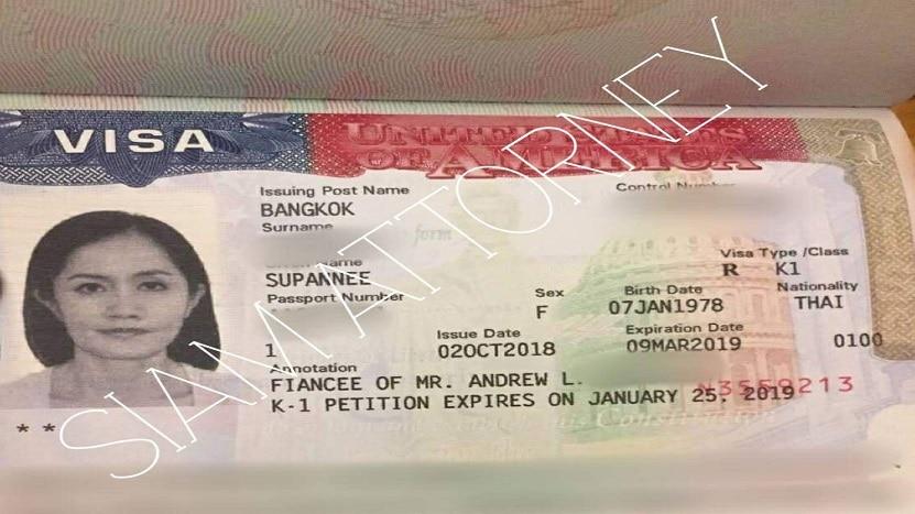 how to us k1 visa