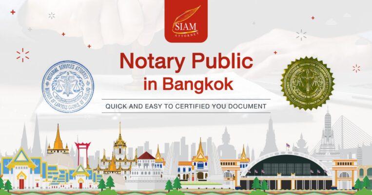 Notary Public in Bangkok