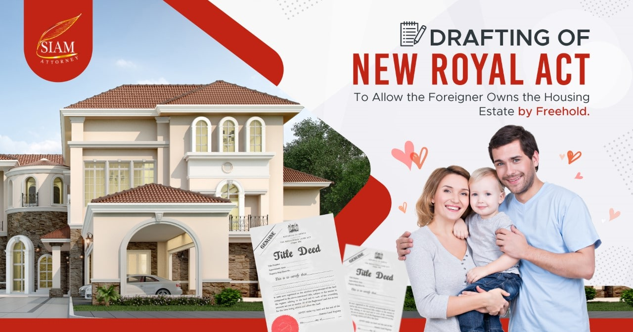 foreigner buy house Thailand