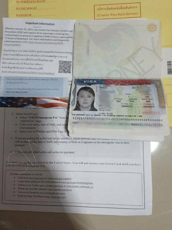 getting a CR1 Visa