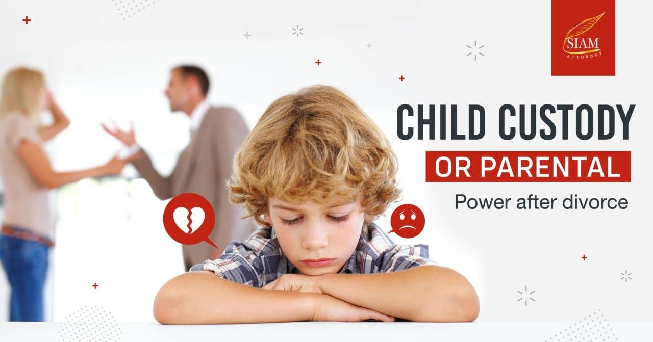 Child Custody under Thai Family Law